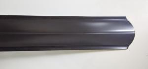 Евроштакетник полукруглый 120 односторонний толщиной 0,45 в цветах RAL