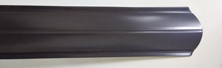 Евроштакетник полукруглый 120 односторонний толщиной 0,4 в цветах RAL