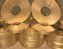 Лента бронзовая 0,05х200 БрКМц3-1