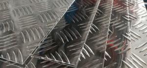 Лист алюминиевый рифленый 1,5х1500х3000 АМг2Н2Р квинтет