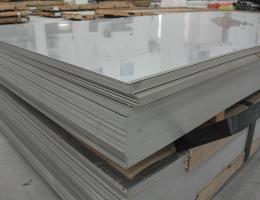 Лист нержавеющий 0,8х1250х3000 AISI 304 зеркальный холоднокатаный в пленке