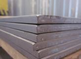 Лист жаропрочный 2x1000x2000 AISI 430 с матовой поверхностью в пленке