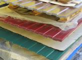 Профлист с полимерным покрытием HC35-1000 0,55х1060 для стен и кровли