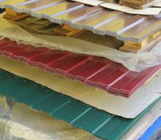 Профлист с полимерным покрытием для стен и кровли