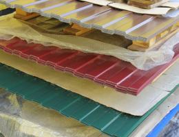 Профлист с полимерным покрытием МП20-1100 0,45х1150 для стен и кровли