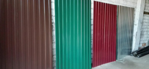 Профлист с полимерным покрытием С10-1100 0,6х1154 для стен и заборов