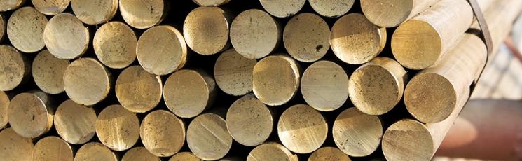 Круг бронзовый 170 БрОЦС5-5-5 0,8 м