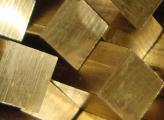 Квадрат латунный 20 ЛС59-1 3 м