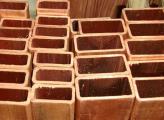 Труба медная квадратная 15х15х2,5 М1 бухта