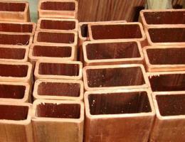 Труба медная квадратная 15х15х1,5 М3 бухта