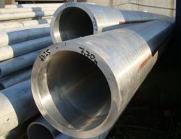 Труба жаропрочная электросварная 42,4х1,5 AISI 430 матовая 6 м