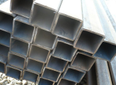 Труба нержавеющая квадратная 80х1,5 AISI 304 шлифованная