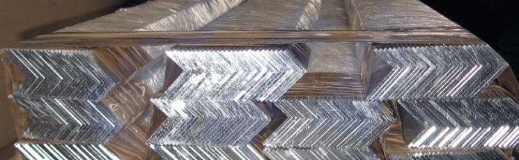 Уголок алюминиевый равнополочный 45х45 Д16 6 м